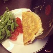 pastırmalı omlet7